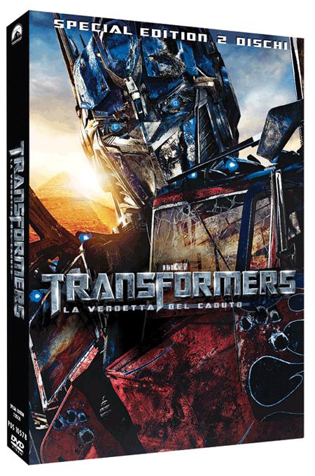 Transformers La Vendetta del Caduto  Finalmente in DVD e Blu Ray