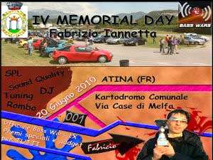 4° Memorial Day Iannetta Fabrizio