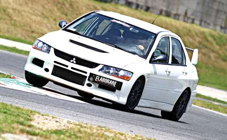 Mitsubishi Lancer Evo IX by Race Garage