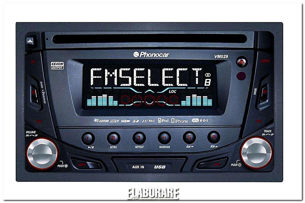 Autoradio Phonocar 2DIN VM029