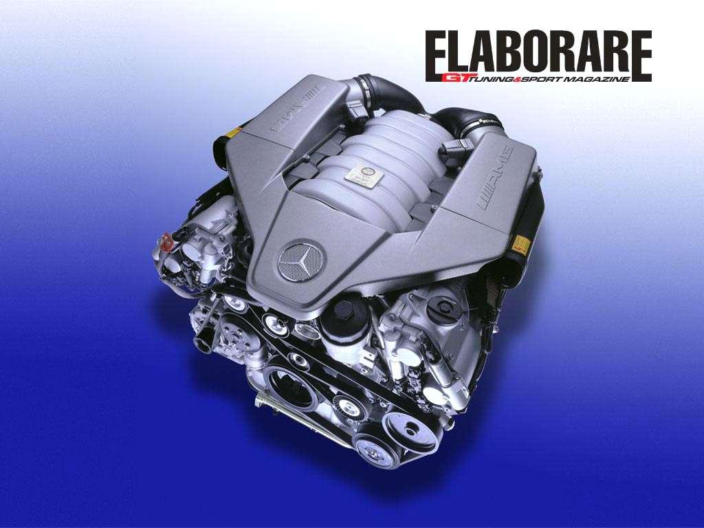 Motore 6.3 V8 Mercedes AMG