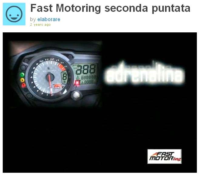 Fast Motoring video TV