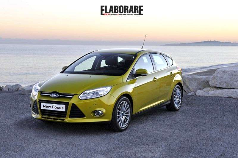 Ford Focus Ecoboost 2012 3 cil