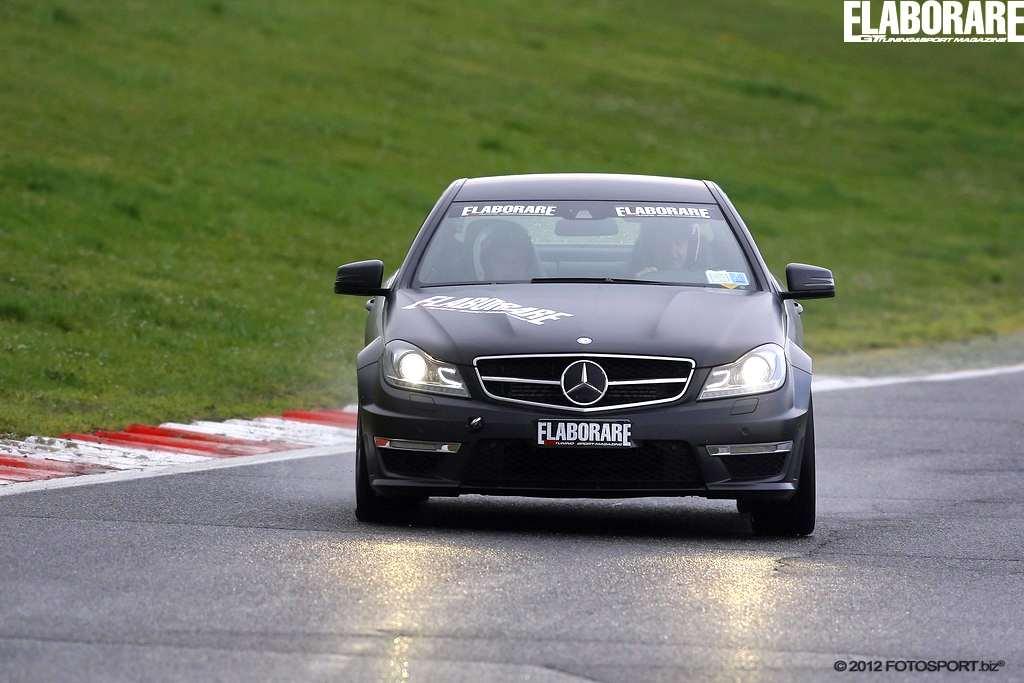 Mercedes AMG C63 a vallelunga