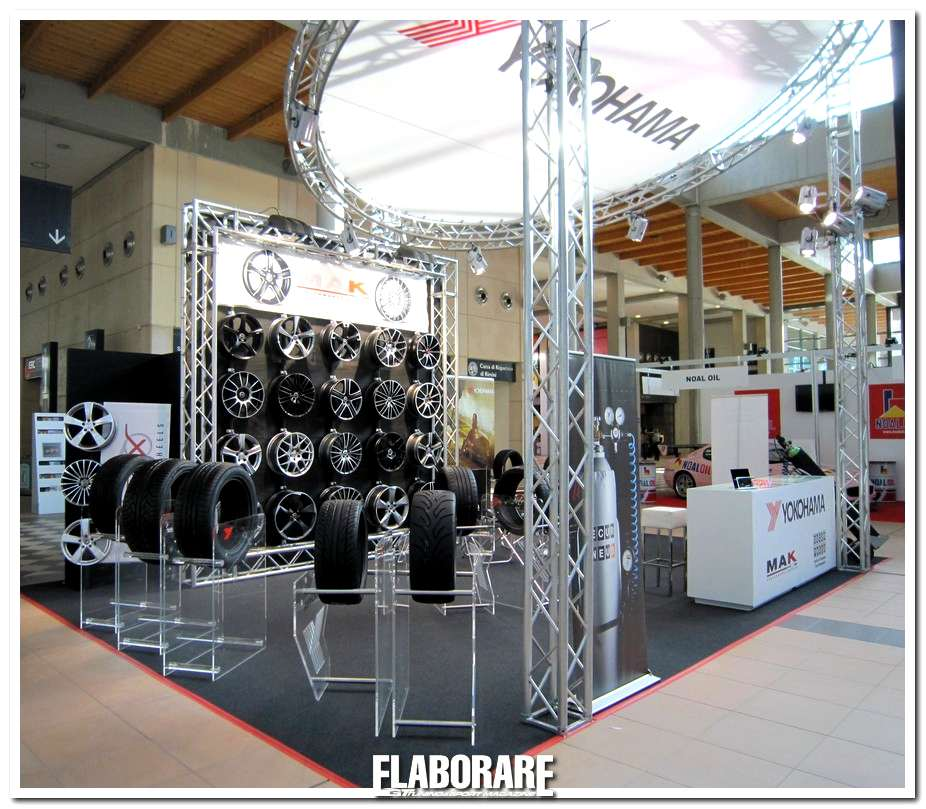 Stand Yokohama A My Special Car Show di Rimini