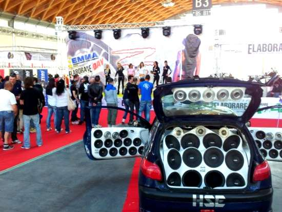 my special car show rimini 2012 audio