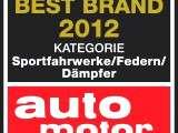Bilstein Best Brand 2012