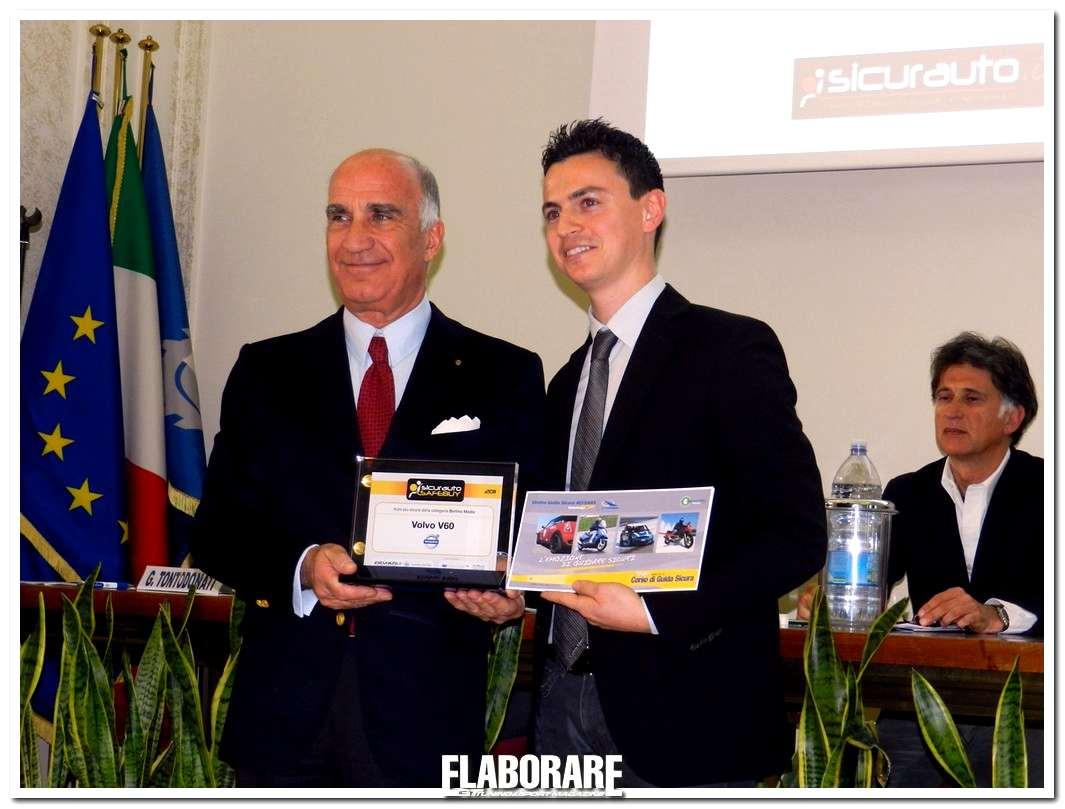1.Angelo Sticchi Damiani, presidente ACI, e Claudio Cangialosi, direttore editoriale SicurAUTO.it