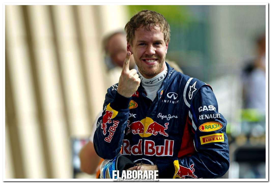 Sebastian Vettel vittorioso al GP del Bahrain di F1