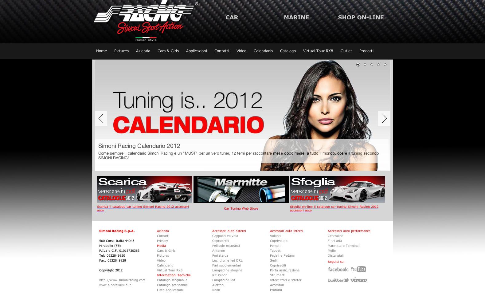 Nuovo sito web by Simoni Racing