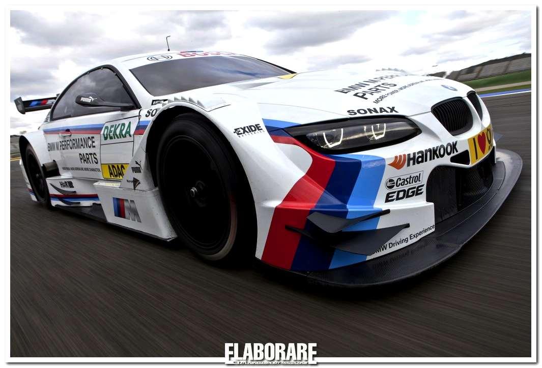 Una delle BMW M3 del campionato DTM 2012