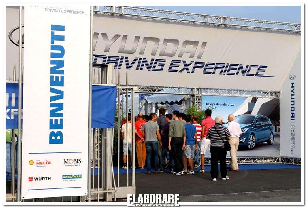 Hyundai Driving Experience edizione 2011 all'autodromo di Monza