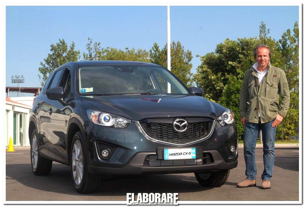 Andrea Della Valle con il nuovo Mazda CX-5