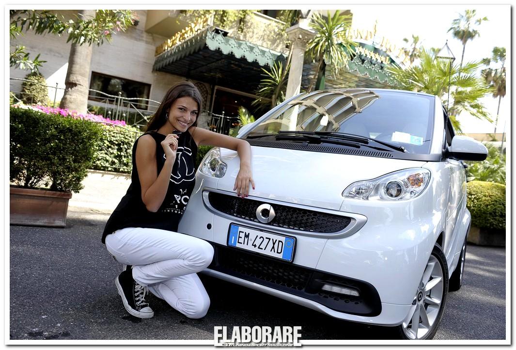 Cristina Chiabotto nuova ambasciatrice del marchio smart