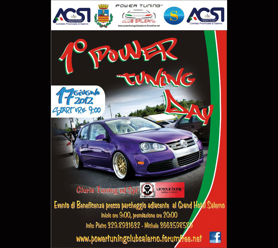 locandina 1° Power Tuning Day