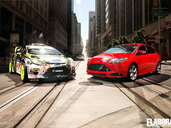 Ken Block Ford Focus ST (1)
