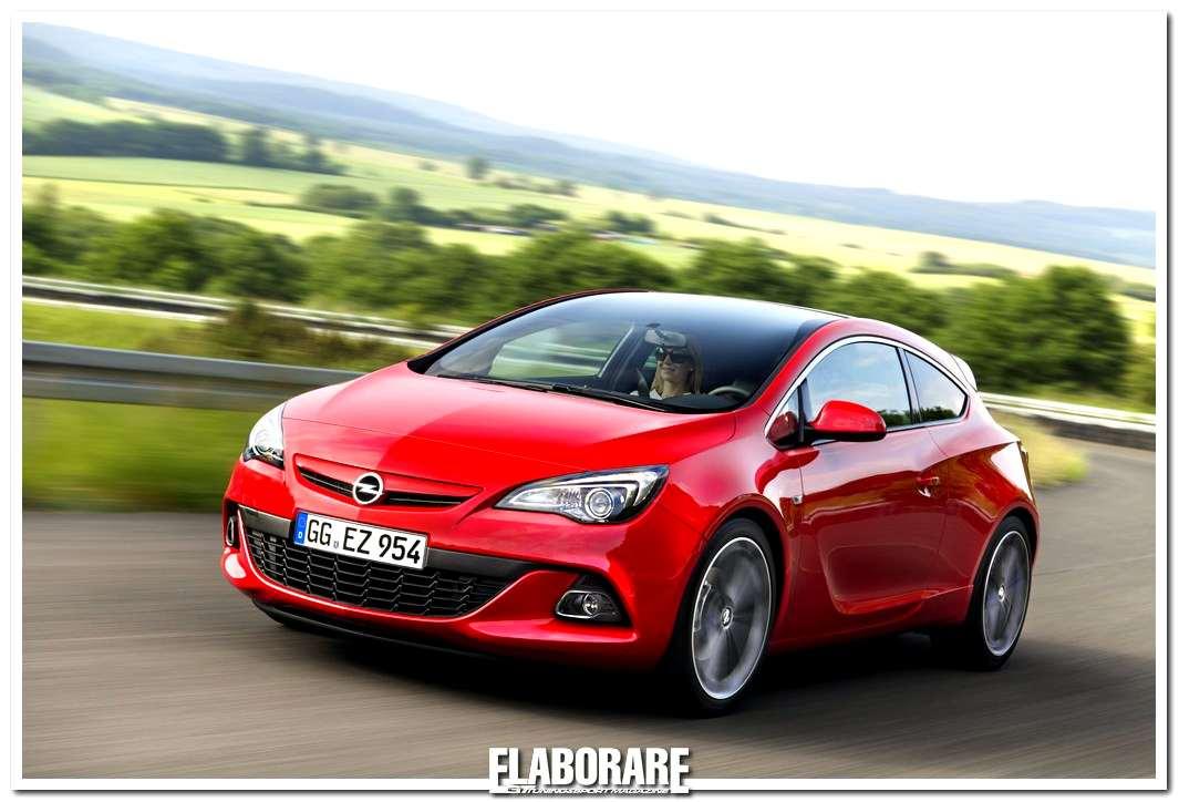 Opel Astra GTC vincitrice del Red Dot Design Award