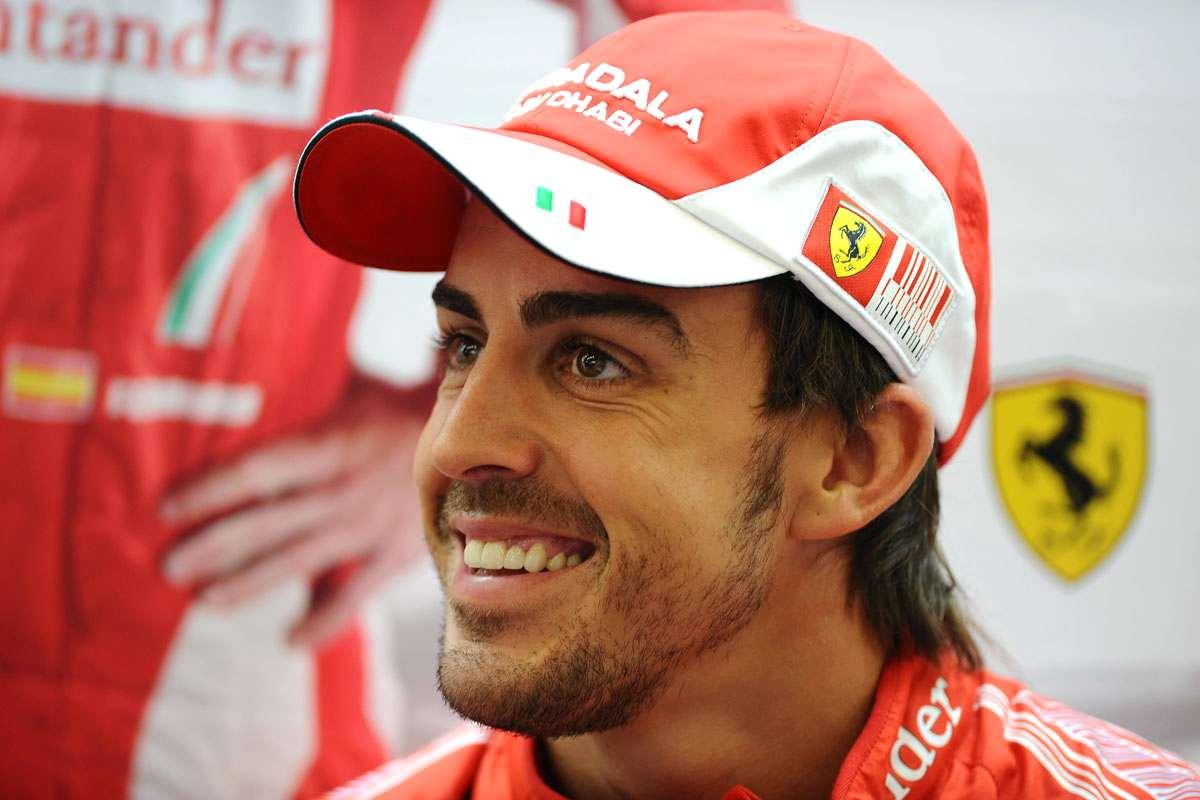 fernado alonso Ferrari
