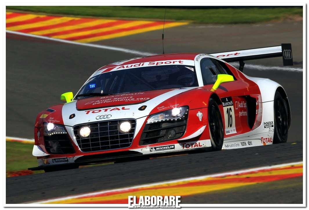 Audi R8 LMS in gara alla 24h di Spa