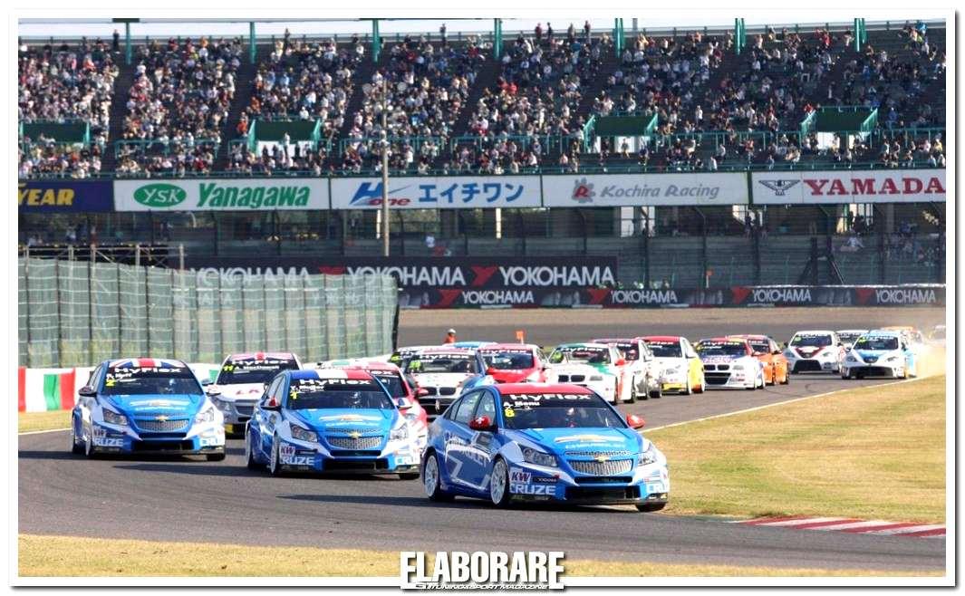 Le vittoriose Chevrolet Cruze nel WTCC di Suzuka