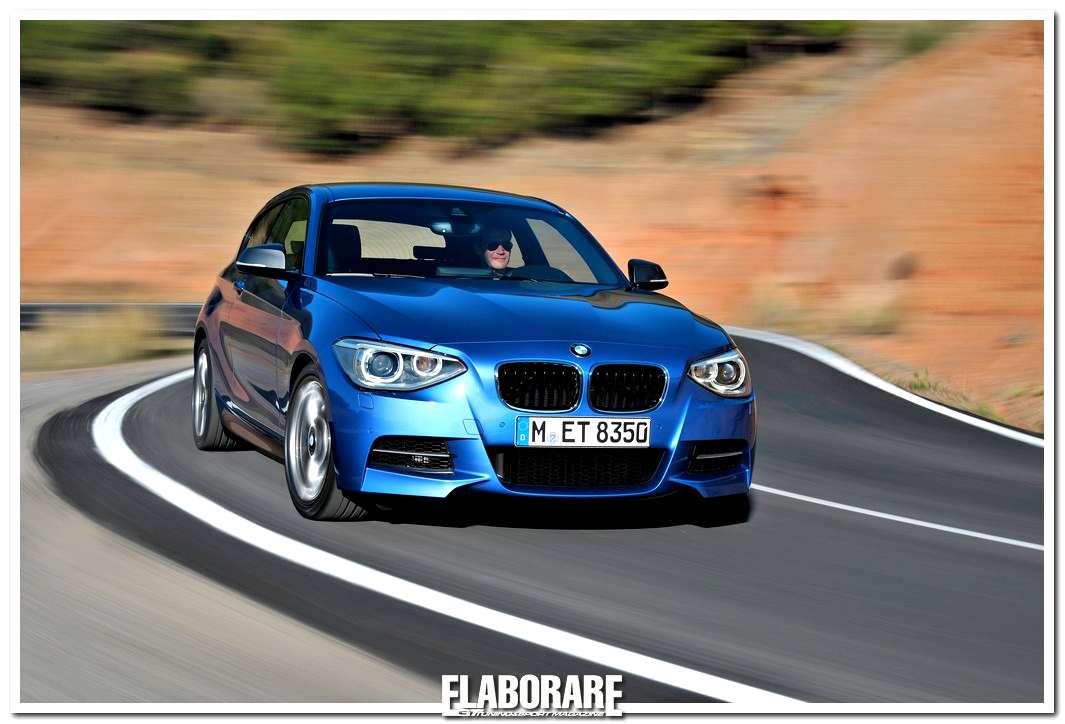 Nuova BMW Serie1 tre porte