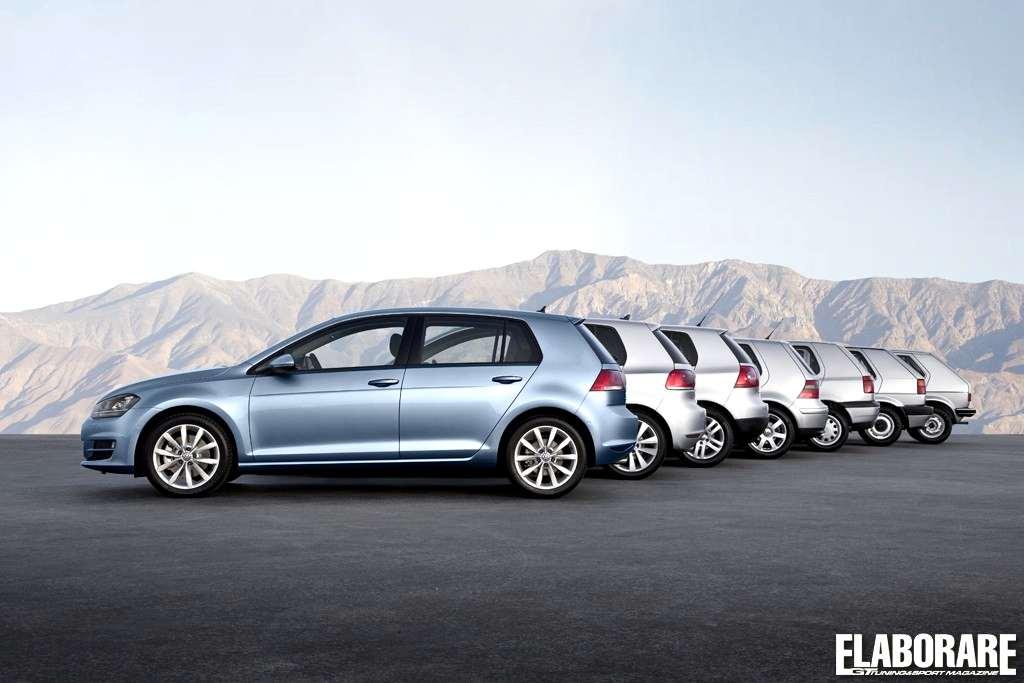 Volkswagen Golf storia