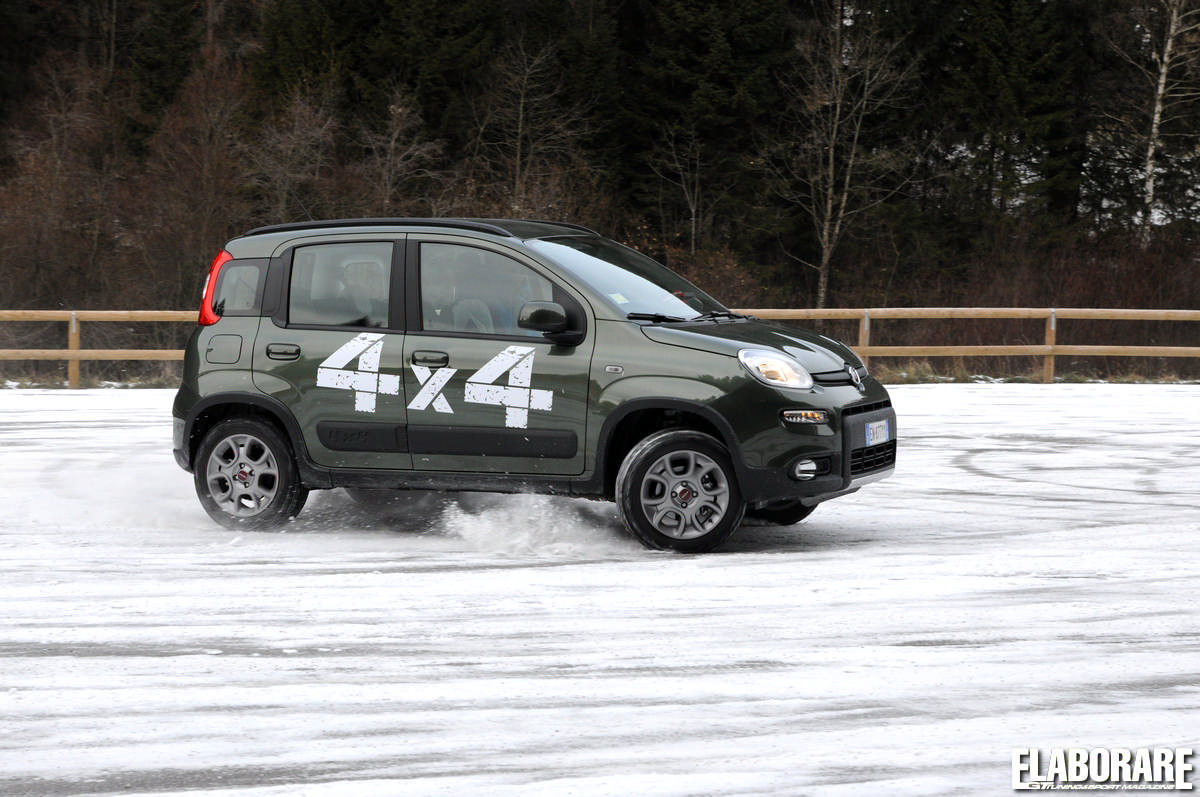 Fiat panda 4x4 test fuoristrada youtube autos weblog for Panda 4x4 extreme
