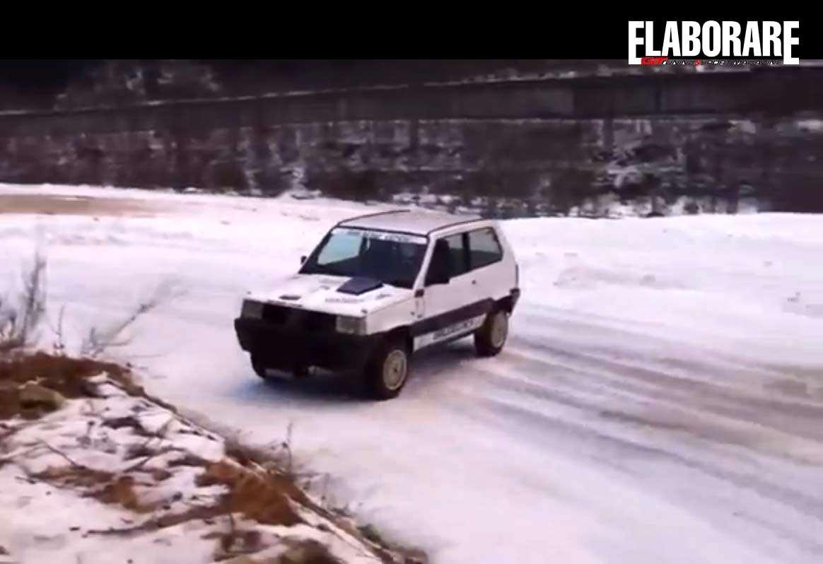 Panda 4 4 drifting show spettacolo elaborare gt tuning for Panda 4x4 sisley off road