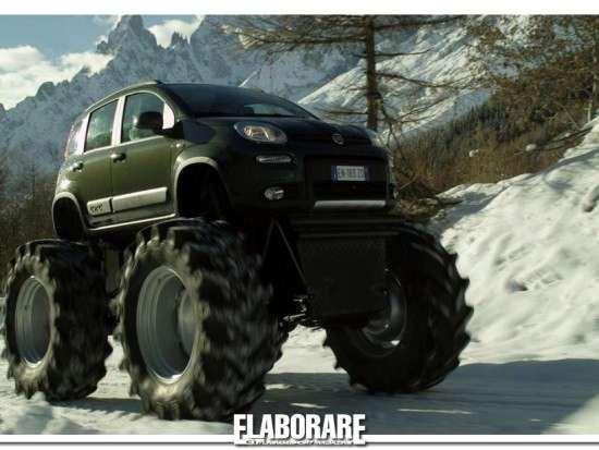 Mostruosamente panda elaborare gt tuning racing for Panda 4x4 extreme