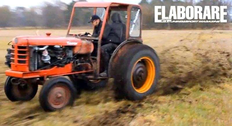trattore volvo turbo drifing elaborato