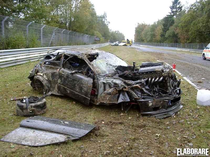 Crash Nurburgring