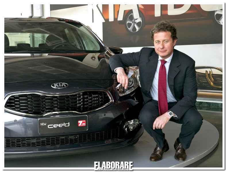 Giuseppe Bitti Kia Motors Italy è Top Manager 2012