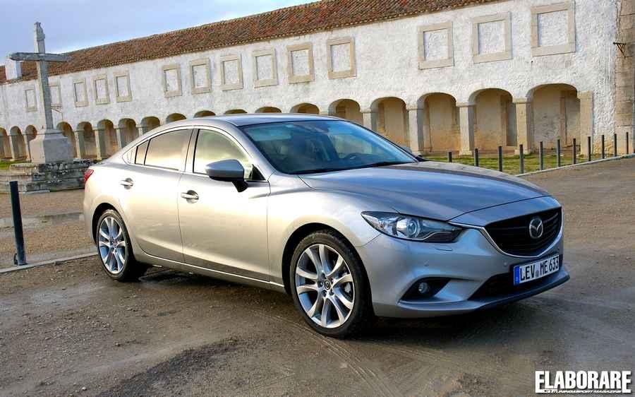 Mazda 6 2013 test