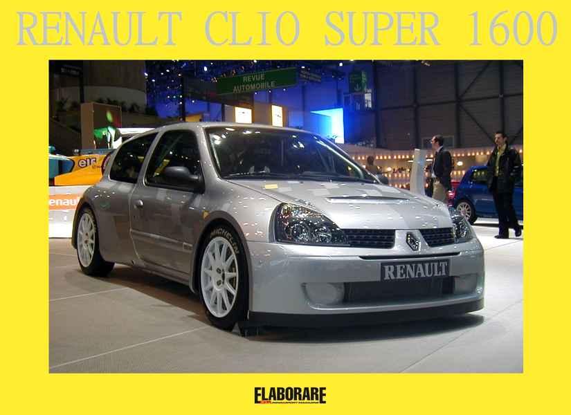 Renault Clio Super 1600
