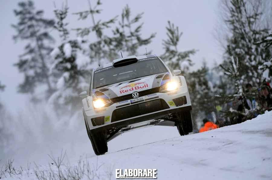 VW Polo WRC Rally Svezia