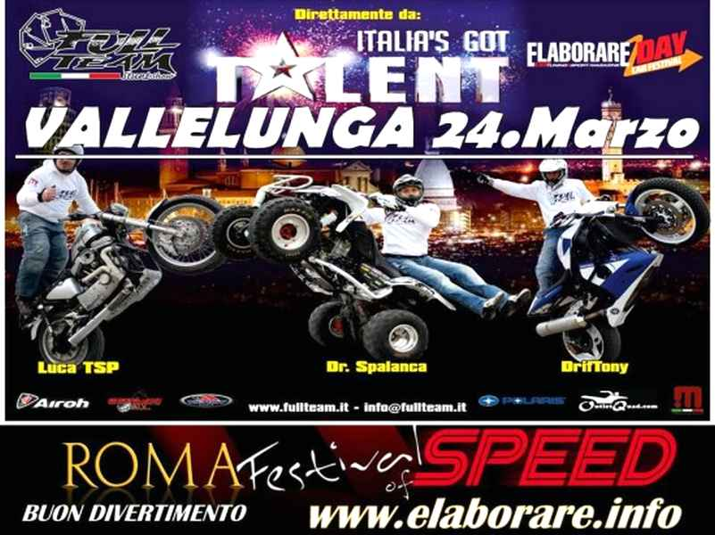 stunt moto elaborare day 550x413 Elaborare Day 24 marzo a Vallelunga