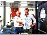 Romeo Ferraris con il figlio Mario
