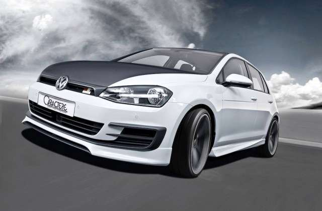 tuning bodykit volkswagen golf 7 caractere performance. Black Bedroom Furniture Sets. Home Design Ideas
