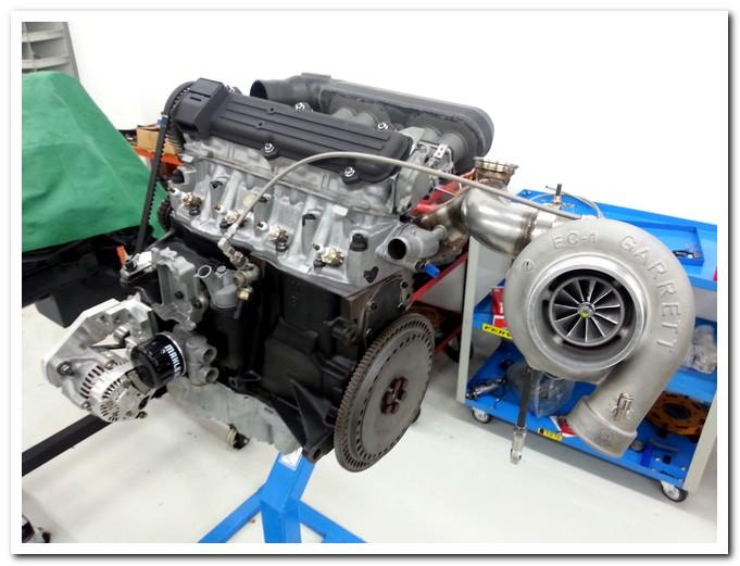 Fiat Uno Turbo Elaborazione Motore Elaborare