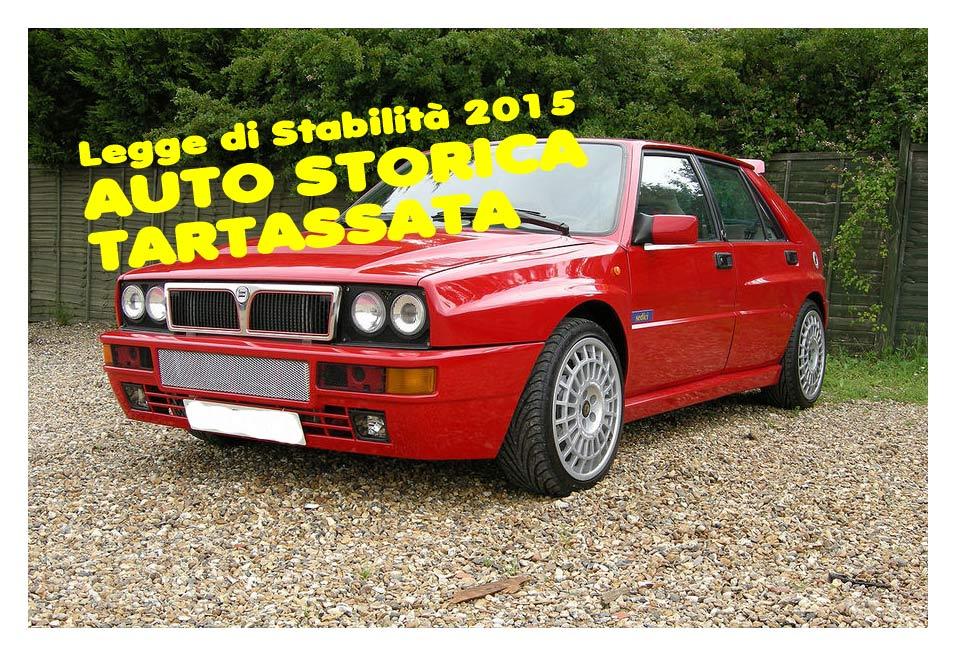 legge stabilita bollo auto storiche-Lancia-Delta-Integrale