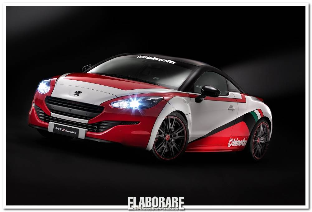 peugeot rcz r bimota da 304 cv elaborare. Black Bedroom Furniture Sets. Home Design Ideas