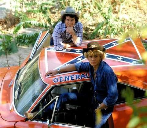 Dodge Charger Generale Lee telefilm Hazzard