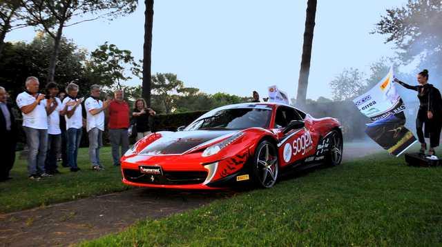 Ferrari 458 Barone record velocità