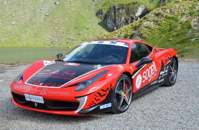 La Ferrari 458 Italia