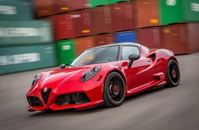 Alfa Romeo 4C Zender Italia