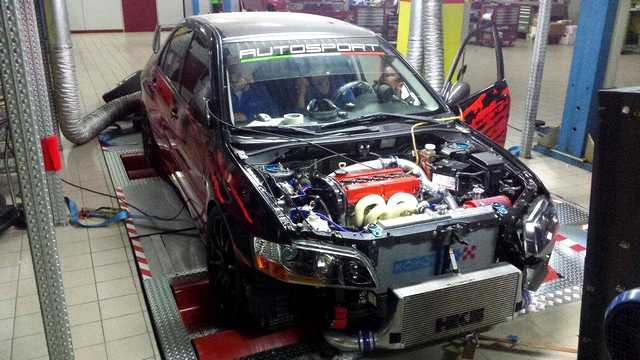 Mitsubishi Lancer Evo VII Autosport
