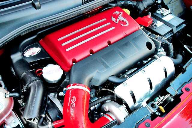 Motore Abarth 500