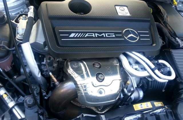 Mercedes CLA 45 AMG Fede Racing
