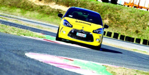 DS3 test assetto Ohlins