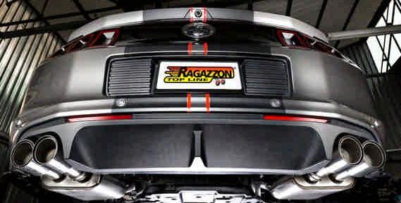 Impianto scarico Mustang Ragazzon